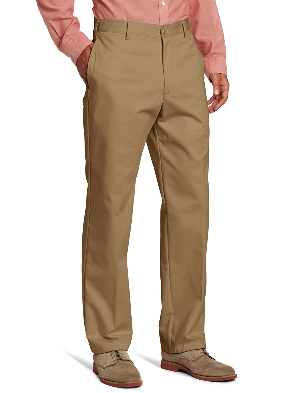 IZOD Men's American Chino Flat-Front Pant IZOD Men' s Sportswear 4534018