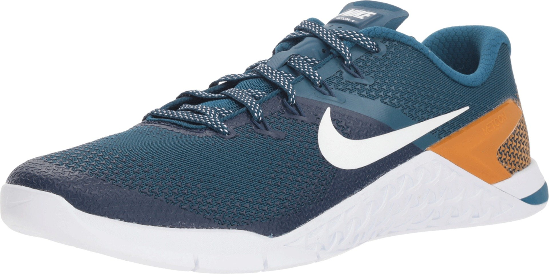 bad49f8d4c4a6 Nike Metcon 4 Mens Ah7453-400, Blue Force/White-monarch-orange Pulse, 12 M  US