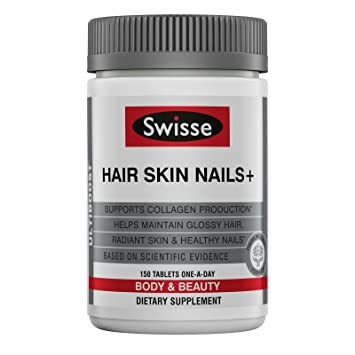 Amazon Com Swisse Ultiboost Hair Skin Nails Tablets 150 Tablets