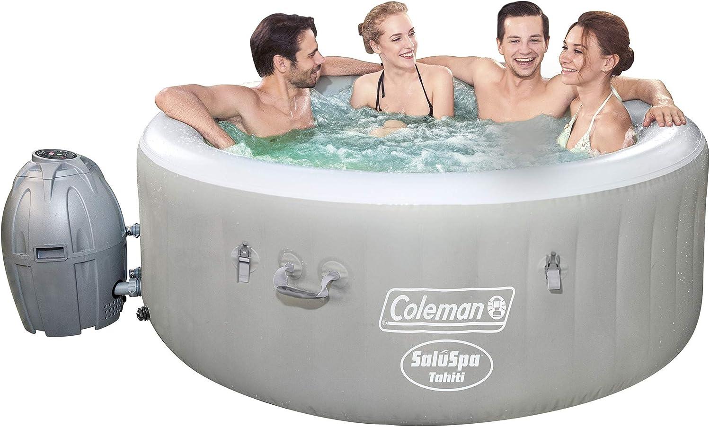 Coleman Saluspa 71 x 26 Tahiti Airjet Hot Tub Spa (Gray)