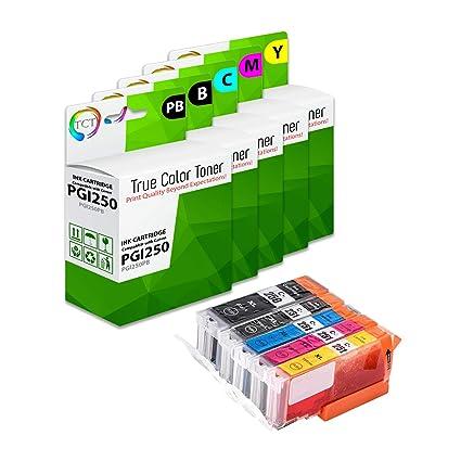 TCT Cartucho de tinta de repuesto compatible para impresoras Canon ...
