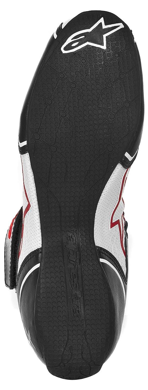 Alpinestars 2712113-123-11.5 Tech 1-KX Karting Shoes Size-11.5 Black//White//Red