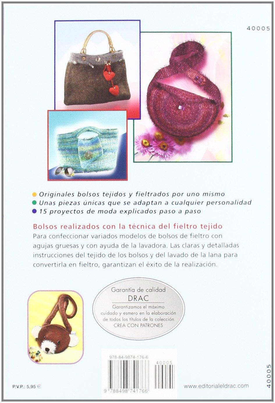 CALIDOS BOLSOS DE FIELTRO TEJIDO: FRIEDERIKE PFUND: 9788498741766 ...