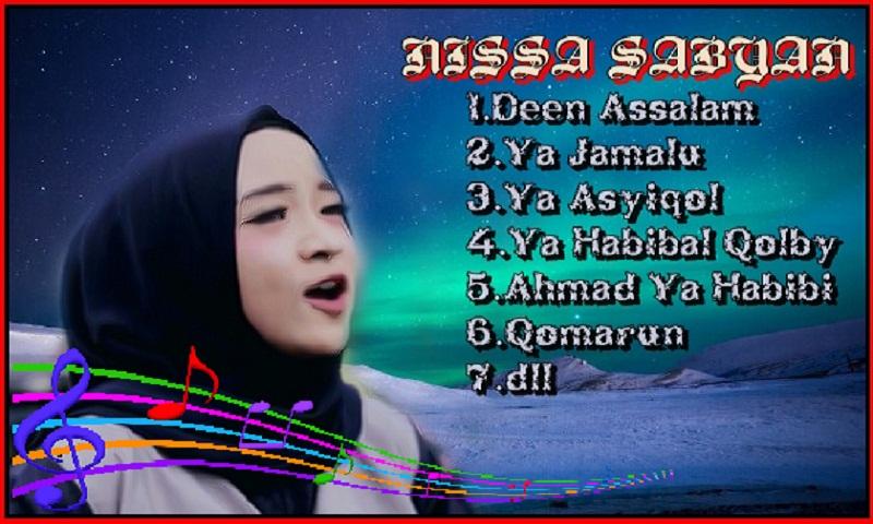lagu mp3 nissa sabyan terbaru 2018