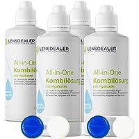 Lensdealer soczewki kontaktowe, środek do pielęgnacji z kwasem hialuronowym All-in-One 6 x 360 ml soczewki kontaktowe…