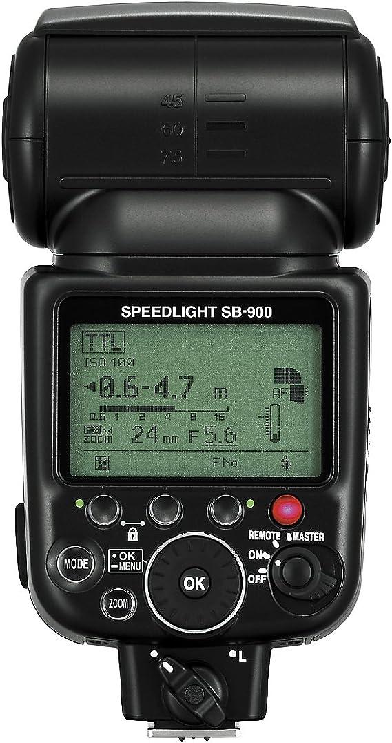 Nikon Speedlight Sb 900 Blitzgerät Leitzahl 48 Bei Iso 200