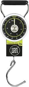 Travelon Stop & Lock Luggage Scale, Black, One Size