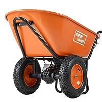 Deals on SuperHandy Ultra Duty Electric Powered Wheelbarrow Cart