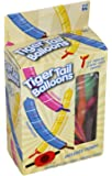 12 Rocket Tiger Tail Balloons Pack With Pump