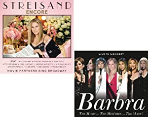 Encore (Movie Partners Sing Broadway) - The Music...The Mem'ries...The Magic! (Live) - Barbara Streisand 2 CD Album Bundling