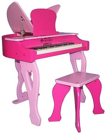 Schoenhut 37 Key Electronic Butterfly, Pink, One Size