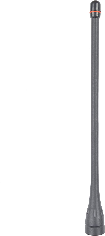 Guanshan 5X FA-SC57U 6.2inch UHF Whip Antenna for ICOM IC-F43 IC-F80 IC-F4029 IC-F4000 IC-F4001 IC-F4002 IC-F4003 IC-F4010 IC-F4011 IC-F4020 IC-F4021 IC-F4022 IC-F4023 IC-F4026 Portable Radio