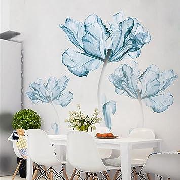 CKH Adesivi murali Camera da letto creativa Scalda poco Carta da parati  autoadesiva Decorazioni per la stanza da parati Adesivi murali in stile ...