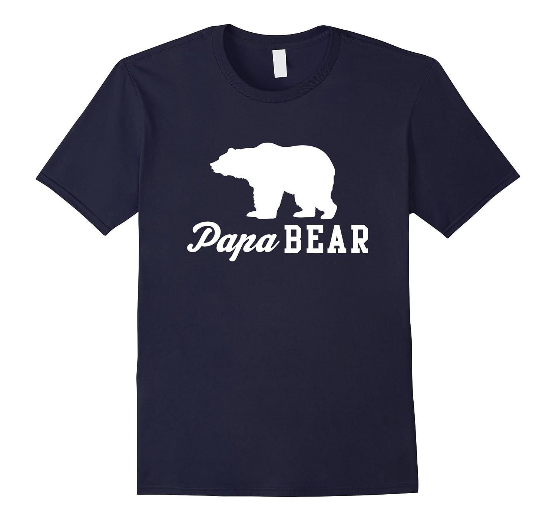 Papa Bear T-shirt for dads and grandpas-Vaci