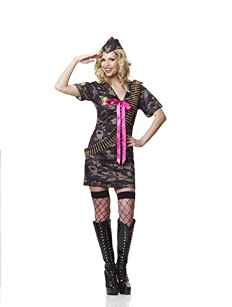 232880b667f AXTokyo Ladies Womens Sexy Classified Army Girl Outfit Camouflage ...