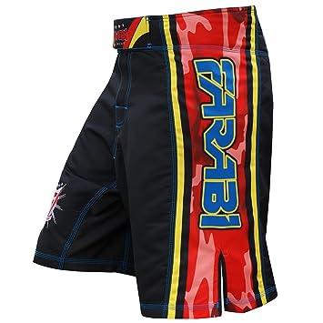 Farabi MMA Boxing Kickboxing Muay Thai Combat Shorts for Boxing