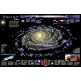 The Milky Way, laminated : Wall Maps Space: PP.NGSP622040 (Reference - Space)