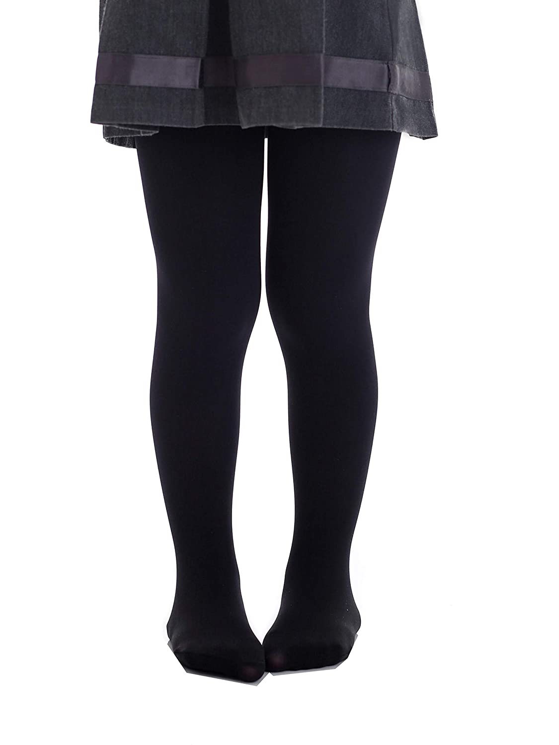 f7cb96bd30853 Top Fit Socks Girls' Microfiber Tights: Opaque Solid Seemless Footed  Leggings: Amazon.ca: Clothing & Accessories