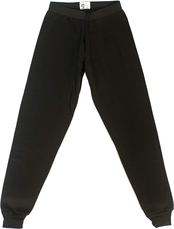 Children Thermal PolyPro Long Underwear Top 1//4 Zip