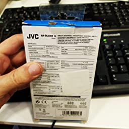 JVC HA-EC20BT Dentro de oído Binaural Inalámbrico Azul: Jvc ...