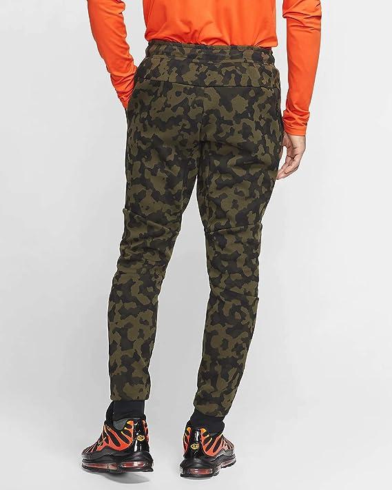 Amazon Com Nike Sportswear Tech Fleece Mens Printed Joggers Clothing