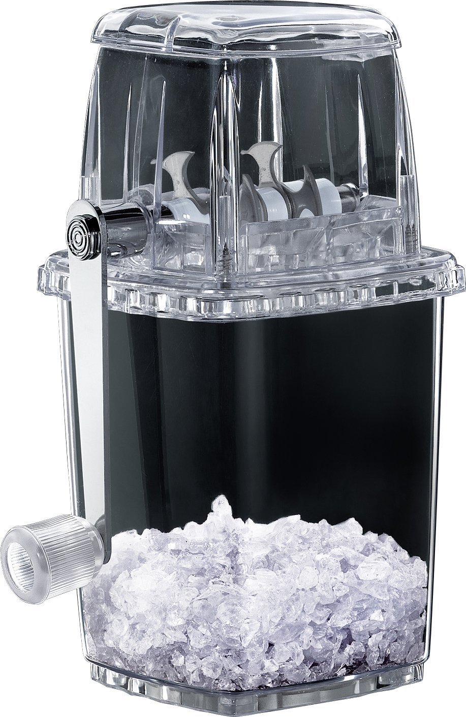 IUME Ice Crusher Manual Hand-operated Small Home Manual Grinding Smoothie Mini Chopper Easy to Use by IUME (Image #2)