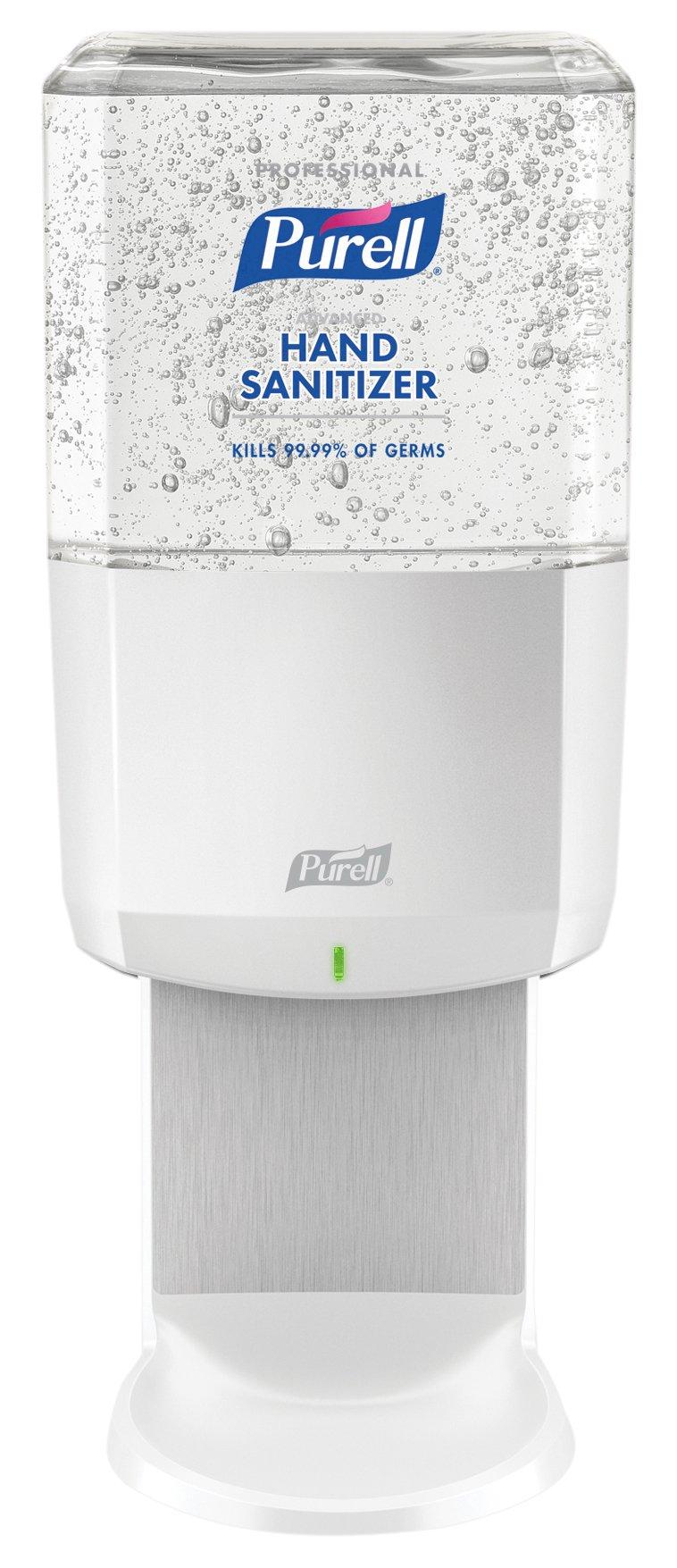 Purell 6462-1W PURELL Professional Advanced Hand Sanitizer Kit, Gel Refill + 1 ES6 White Dispenser