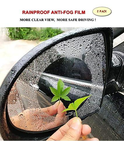 Amazon Com Anti Fog Car Rearview Mirror Film Anti Water Mist Anti