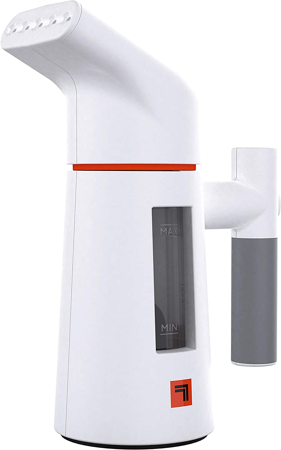 Sharper Image SI-428 Handheld Garment Steamer for Clothes, Curtains, Fabric, and Travel, White