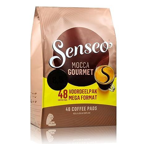 Senseo Kaffeepads Mocca Gourmet, Frisch & Intensiv, Kaffee für ... | {Kaffeepadmaschinen 56}