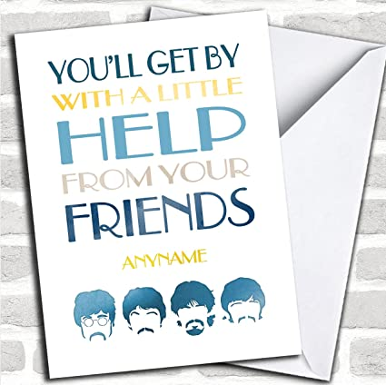Friends get well cards