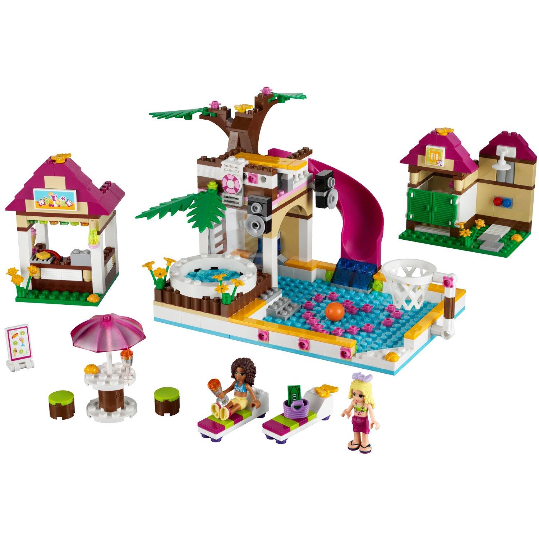 LEGO Friends - Playsets: La piscina de Heartlake City (41008): Amazon.es: Juguetes y juegos