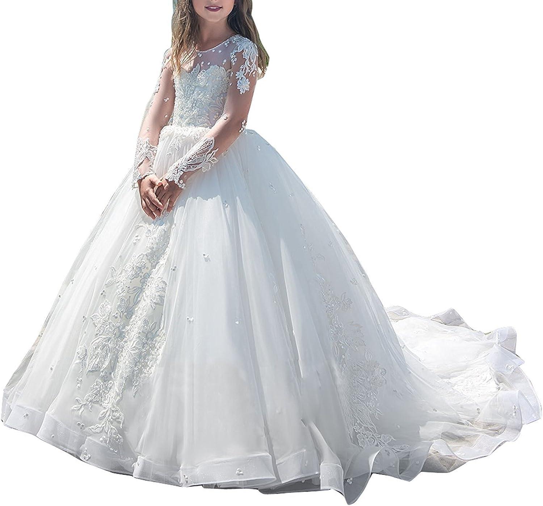 yeoyaw Flower Girls Wedding Bridesmaid Pageant Popular standard Formal Firs mart Dress