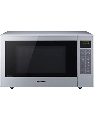 Panasonic NN-CT57JMBPQ Slimline Combination Microwave Oven with Turntable, 27 Liters, Silver