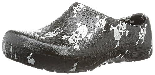500a8ddb7b99e3 Birkenstock Women´s Profi-Birki Black Skull Alpro-Foam Sandals 36 EU R