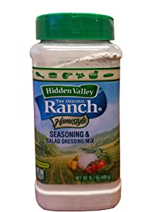 Hidden Valley Ranch Homestyle Seasoning & Salad Dressing Mix Powder 15.7 oz