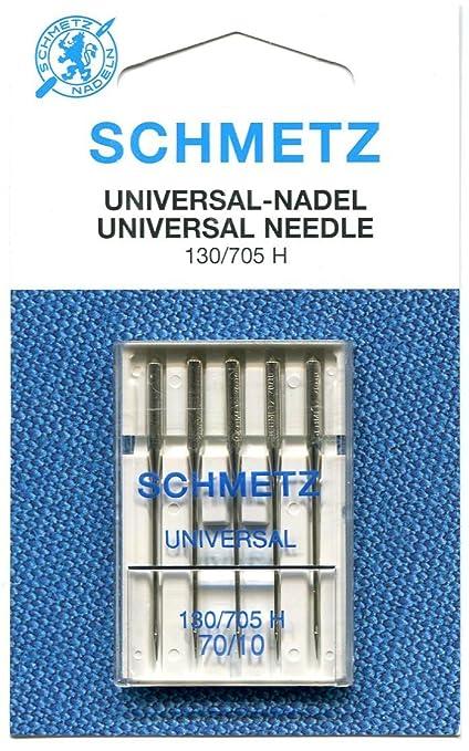 Agujas para máquina de coser tamaño 70/10 (5 agujas): Amazon.es: Hogar