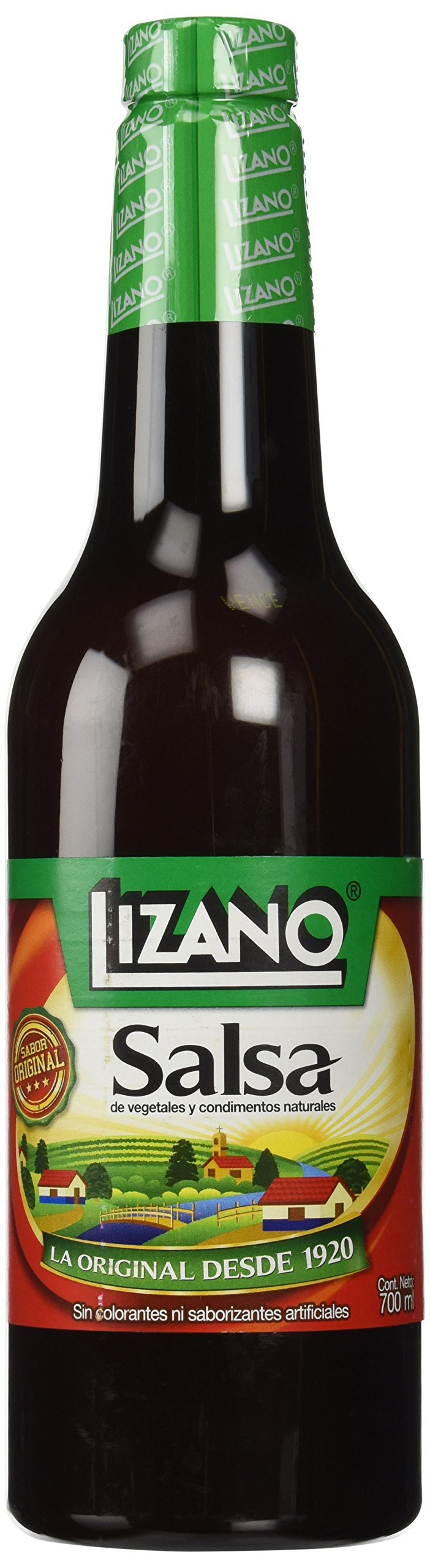 Lizano Salsa 700 mL - 2 bottles by Lizano