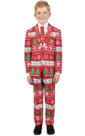 dobell boys christmas jumper christmas suit 6