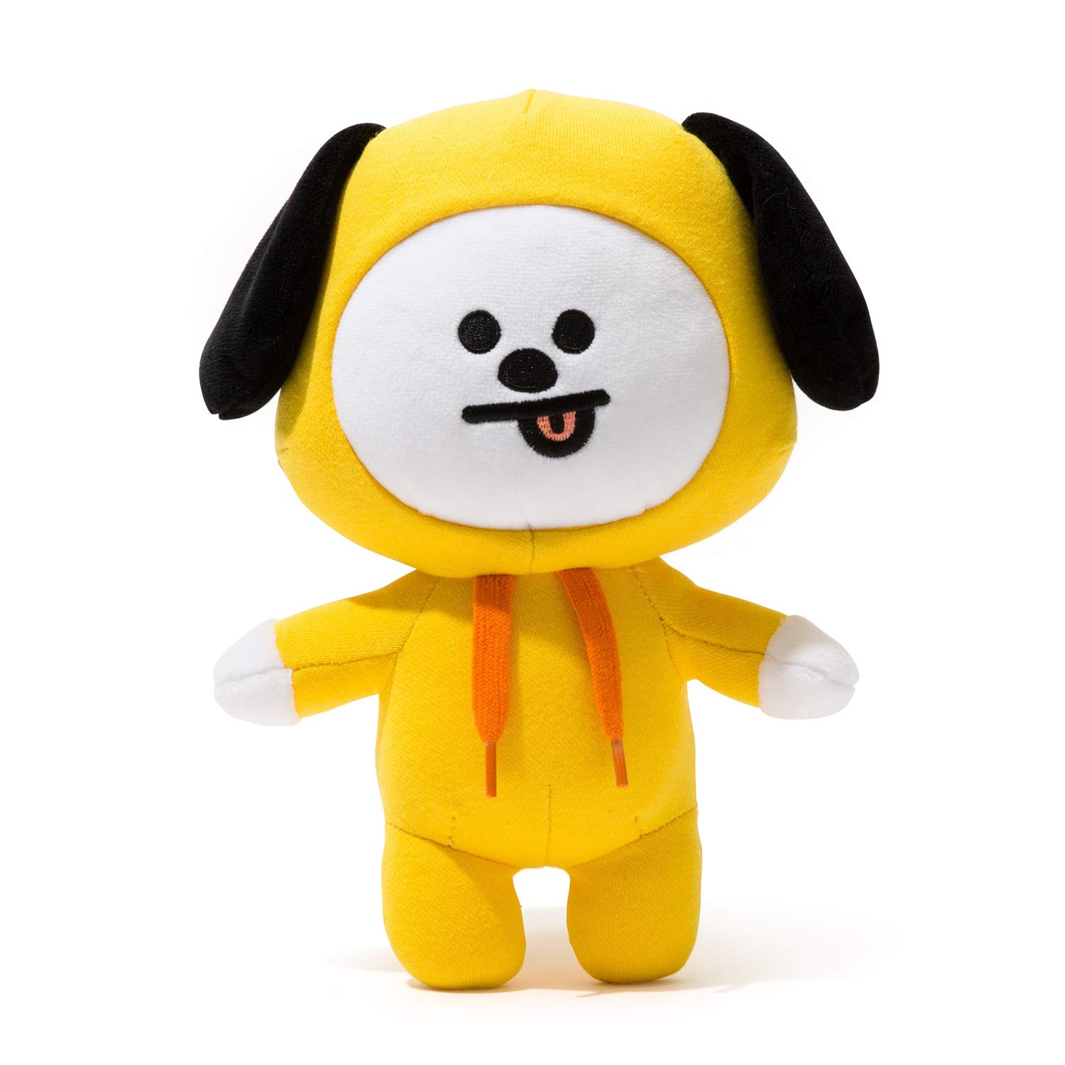 BT21 Chimmy Standing Plush Doll Medium Yellow Line Friends