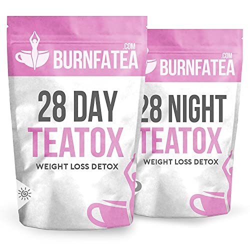 Burnfatea Teatox 28 Day Weight Loss Slimming Tea - NO LAXATIVE EFFECT