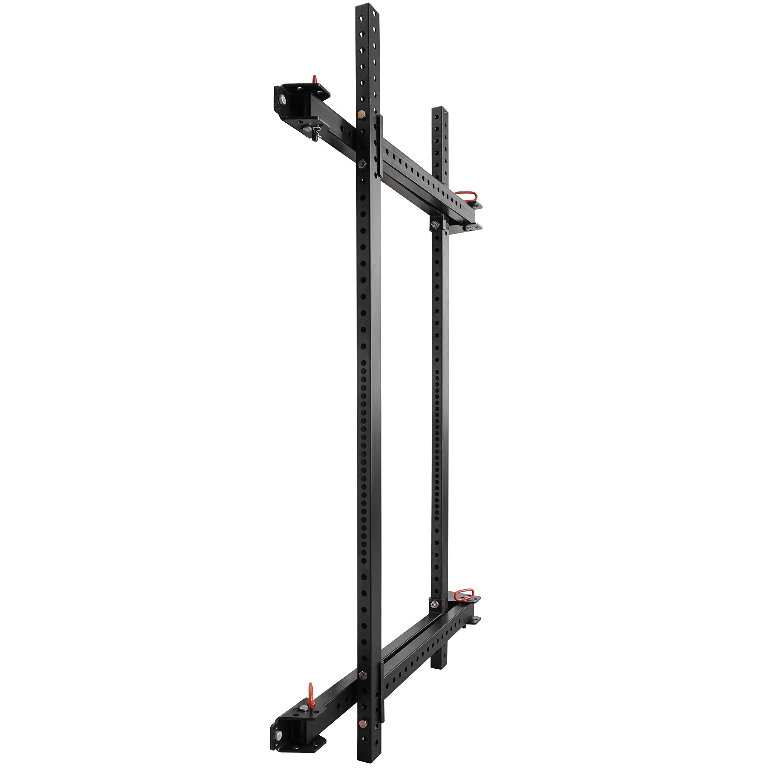 Titan Fitness T-3 Series Fold Back Power Rack 41'' Deep Wall Mounted Laser Cut by Titan Fitness (Image #3)