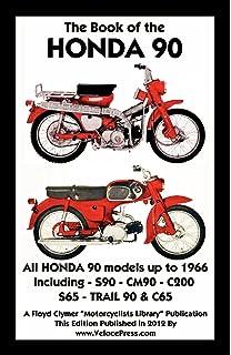 Honda c50 c70 c90 1967 2003 haynes service repair manual book of the honda 90 all models up to 1966 including trail fandeluxe Images