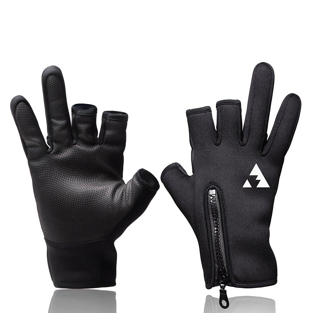 L.A.Y スポーツ フィッシング グローブ 釣り 手袋(ジギング エギング シーバス フライ トローリング対応)【Angler Grip (アングラーグリップ)】 product image