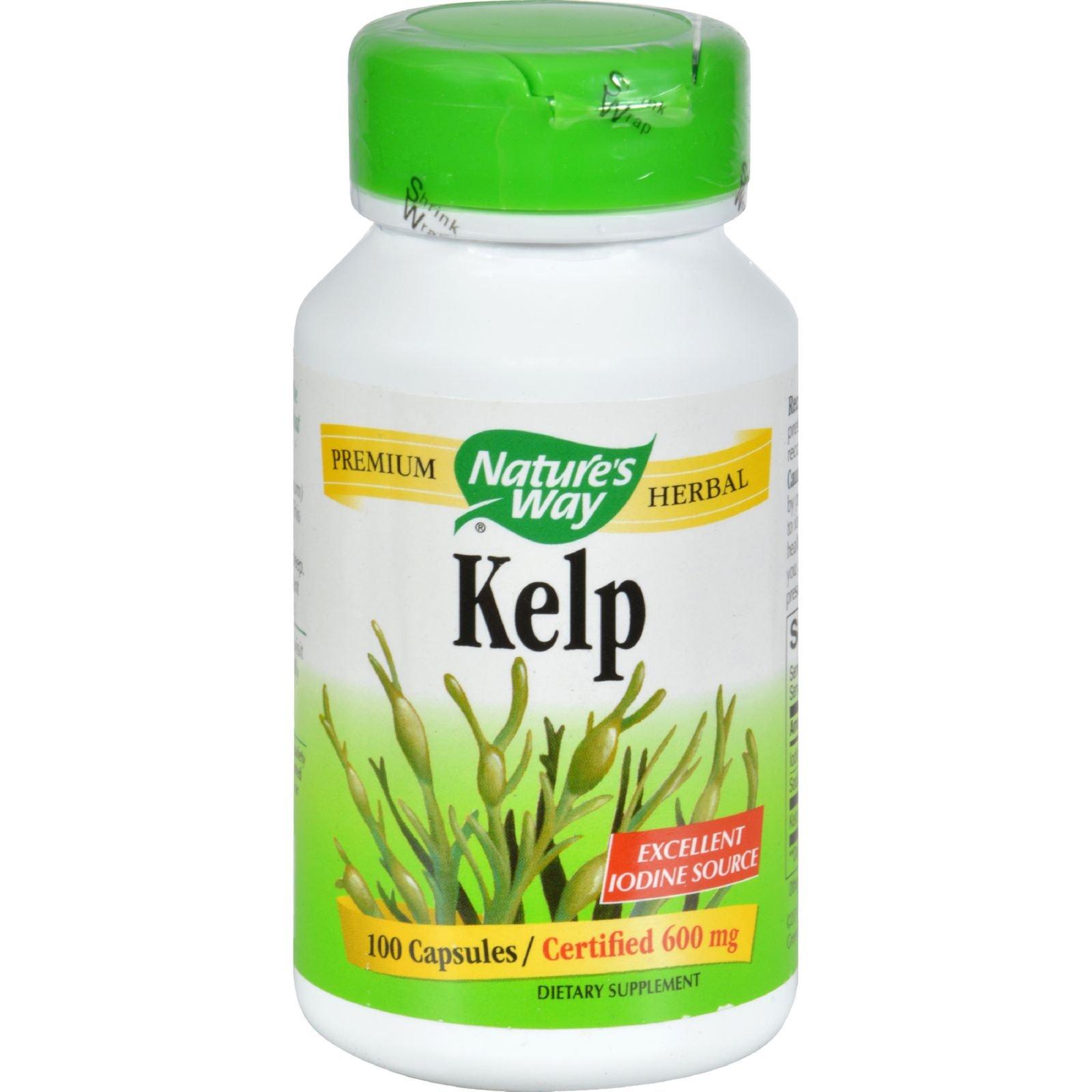 Nature's Way Kelp -- 100 Capsules