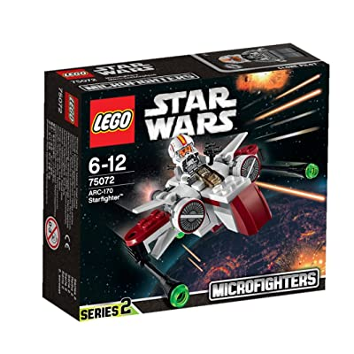 LEGO Star Wars 75072 ARC-170 Starfighter: Toys & Games