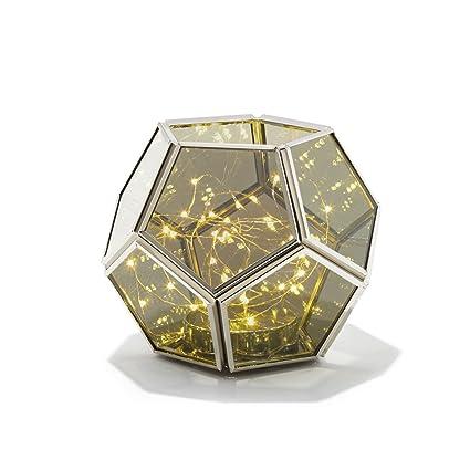 Amazon Com Decorative Geometric Terrarium Lantern Hexagon Shape