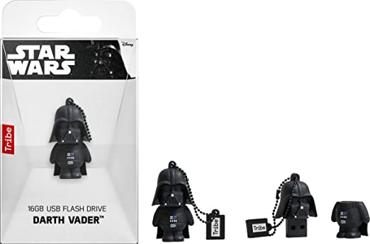 Llave USB 16 GB Darth Vader - Memoria Flash Drive 2.0 Original ...