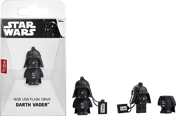 Llave USB 16 GB Darth Vader - Memoria Flash Drive 2.0 Original ...