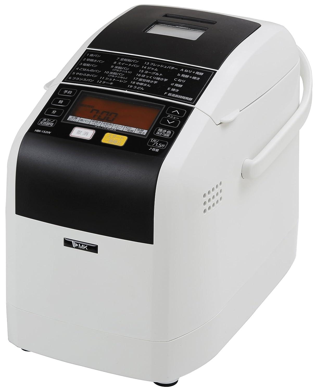 エムケー精工 ふっくらパン屋さん(ホームベーカリー1.5斤タイプ)HBK-152